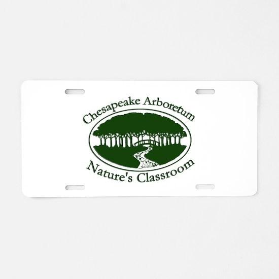 Chesapeake Arboretum Logo Aluminum License Plate