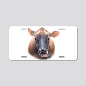 Cow face Aluminum License Plate