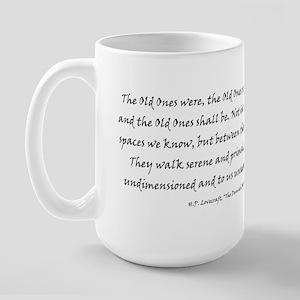 HPL: Old Ones Large Mug