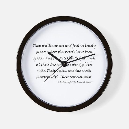 HPL: Unseen Wall Clock