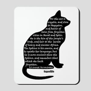 HPL: Cats Mousepad