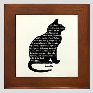 HPL: Cats Framed Tile