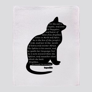 HPL: Cats Throw Blanket