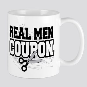 Real Men Coupon Mug