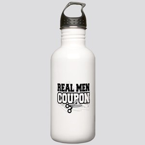 Real Men Coupon Stainless Water Bottle 1.0L