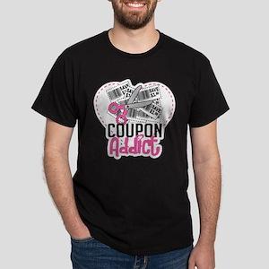 Coupon Addict Dark T-Shirt