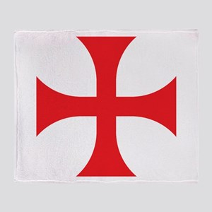 Knights Templar Throw Blanket