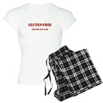 GLUTEN-FREE THE ONLY WAY TO B Women's Light Pajama