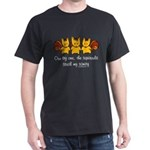 One by one, the squirrels Dark T-Shirt