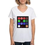 I'm gel'n (I'm gelling) Women's V-Neck T-Shirt
