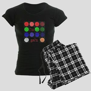 I'm gel'n (I'm gelling) Women's Dark Pajamas