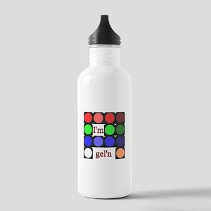 I'm gel'n (I'm gelling) Stainless Water Bottle 1.0