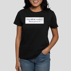 Real Cowboy Women's T-Shirt
