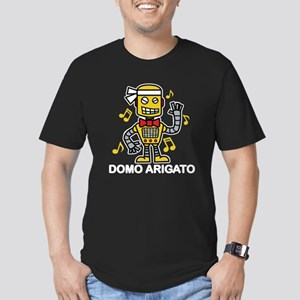 Domo Arigato Men's Fitted T-Shirt (dark)