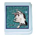 Cat Libra baby blanket