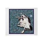 Cat Libra Throw Blanket