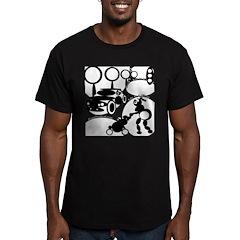Circle 1 Men's Fitted T-Shirt (dark)