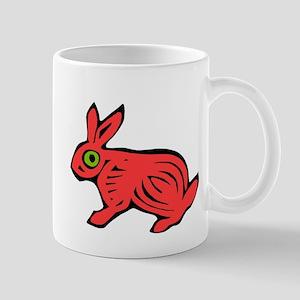 Red Rabbit Mug
