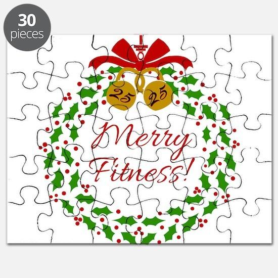 Merry Fitness Wreath Puzzle
