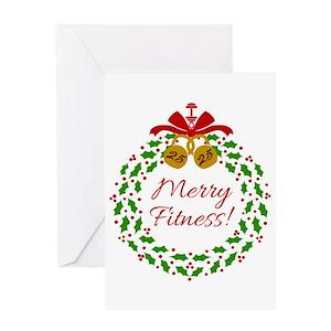 Fitness greeting cards cafepress m4hsunfo