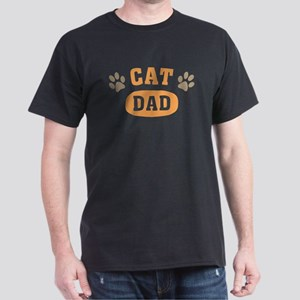 Cat Dad Dark T-Shirt