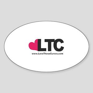 LTC LOGO Sticker (Oval)