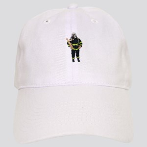 Fireman Holding Child Cap