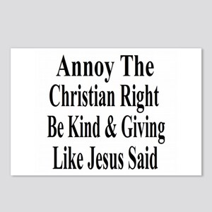 Annoy The Right Postcards (Package of 8)