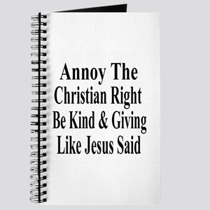Annoy The Right Journal