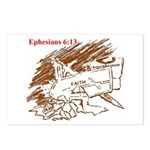 Ephesians 6:13 Postcards (Package of 8)