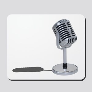 Pill Microphone Mousepad