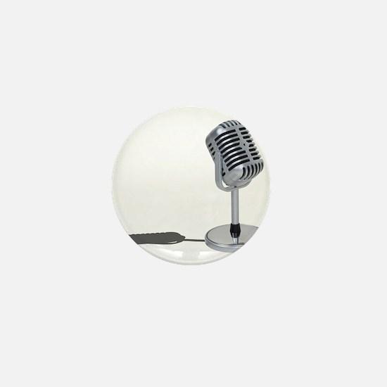 Pill Microphone Mini Button