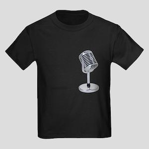 Pill Microphone Kids Dark T-Shirt