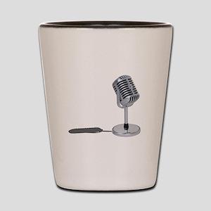 Pill Microphone Shot Glass
