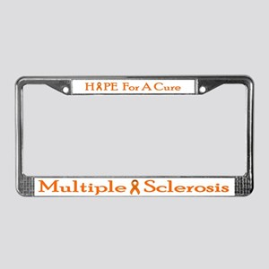 MS License Plate Frame