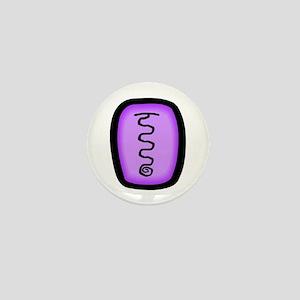 Raku Pictograph Mini Button