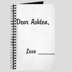 Dear Ashton Diary