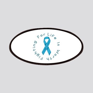 LightBlue Ribbon - Survivor Patches