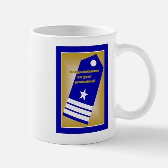 Coast Guard Commander Promoti Mug