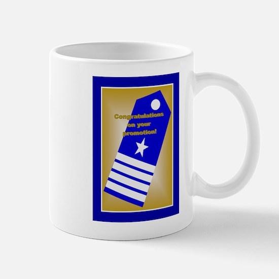 Coast Guard Captain Promotion Mug