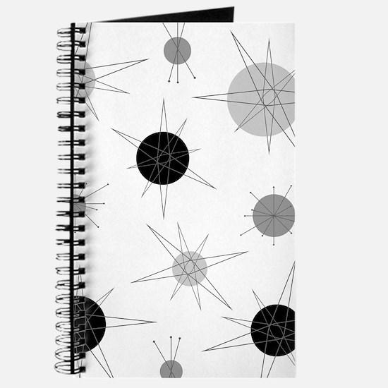 B&W Atomic Era Art Journal