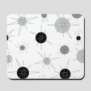B&W Atomic Era Art Mousepad