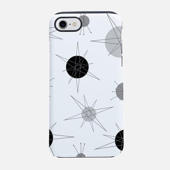 B&W Atomic Era Art iPhone 7 Tough Case