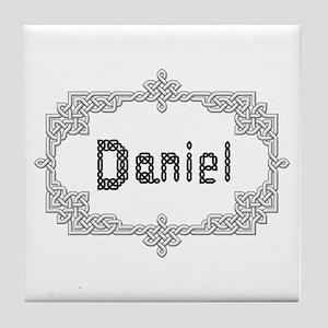 """""""Celtic Knots Daniel"""" Tile Coaster"""