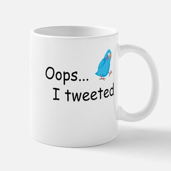 Oops I Tweeted Mug