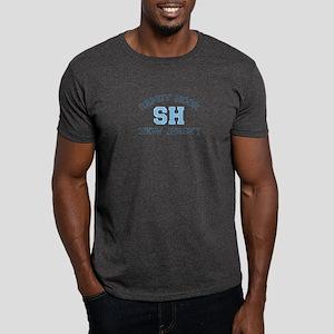 Sandy Hook NJ - Varsity Design Dark T-Shirt