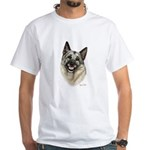 Elkhound White T-Shirt
