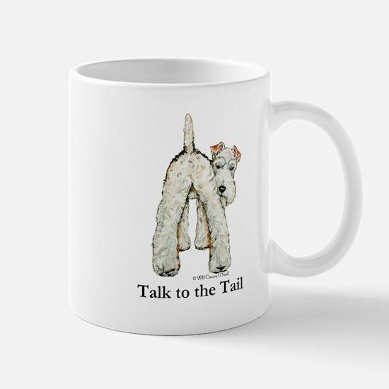 Wire Fox Terrier Tail WFT Mug