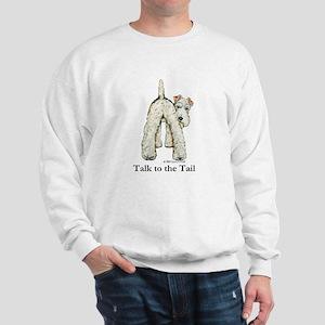Wire Fox Terrier Tail WFT Sweatshirt