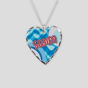 SWIM Necklace Heart Charm